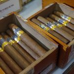 A couple of boxes of real Cuban cigars.