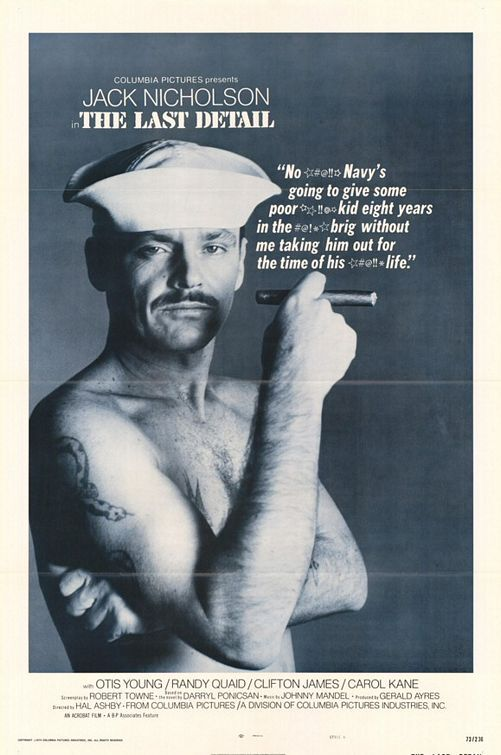 Jack Nicholson featured in The Last Detail by Columbia Pictures.
