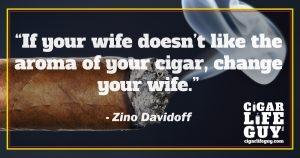 Zino Davidoff on smoking cigars and marriage