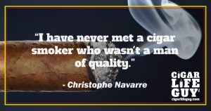 Best cigar quote by Christophe Navarre