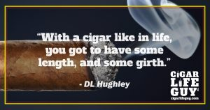 Best cigar quote by DL Hughley