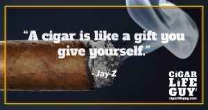 Jay-Z on the gift of cigars