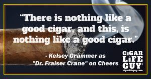 """Kelsey Grammer as Dr. Fraiser Crane on """"Cheers"""""""