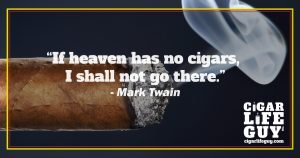 Mark Twain on Heaven and cigars