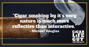 Michael Douglas on smoking