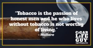 Moliere on tobacco
