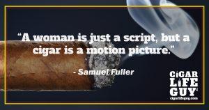 Samuel Fuller on women and cigars