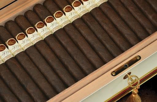 Padron box-pressed cigars
