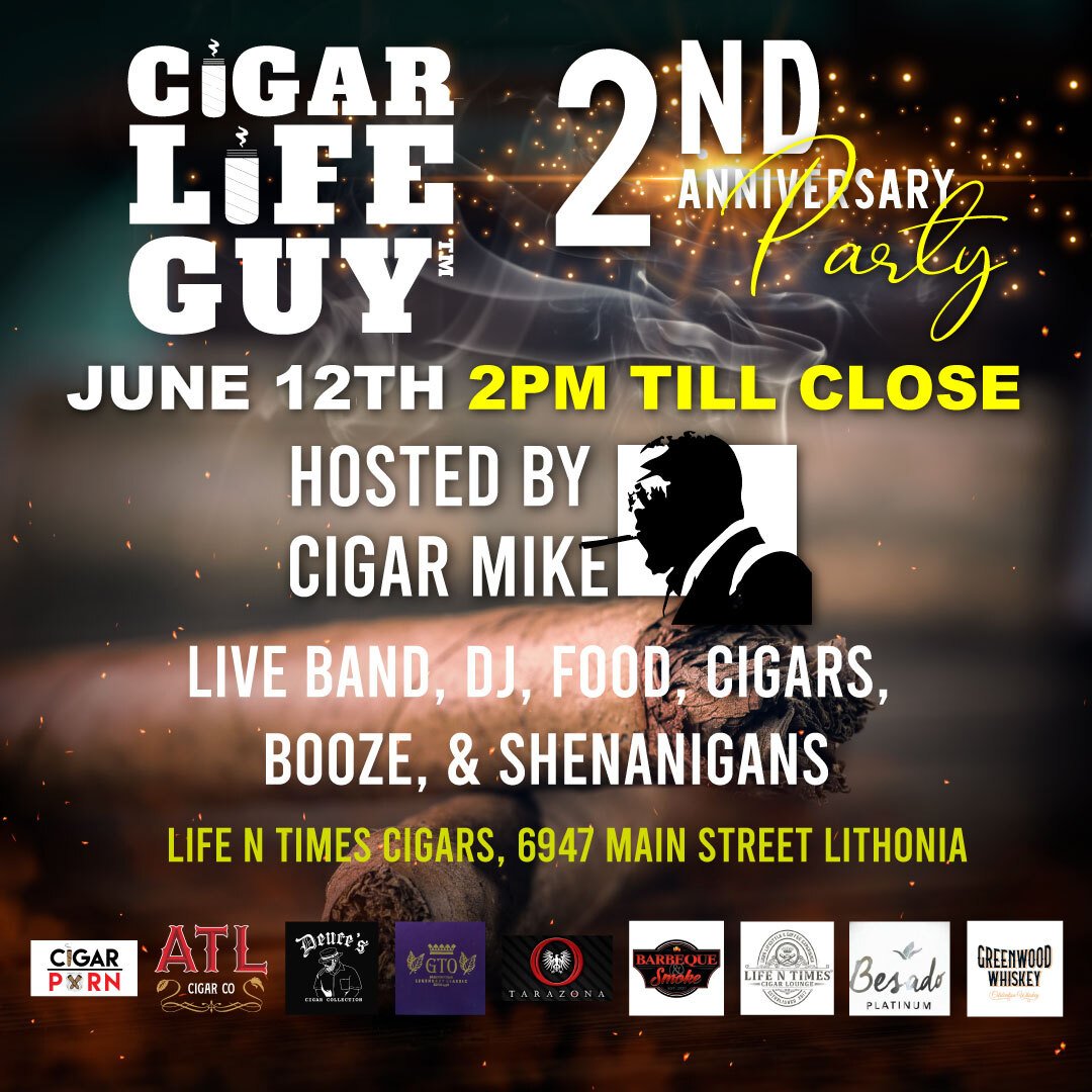 Cigar Life Guy Second Anniversary Party