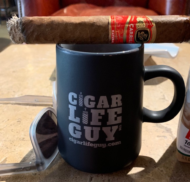 Cigars and coffee are a perfect match