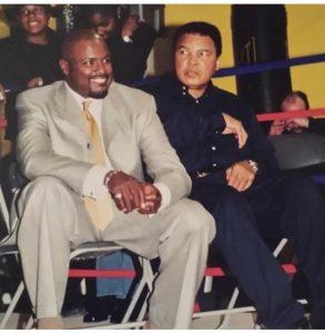 Boxing World Champions Yahya McClain and Muhammad Ali