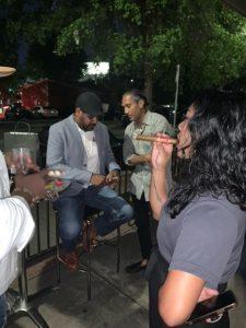ATL Cigar Co. and friends enjoying Atlanta Cigar Experience