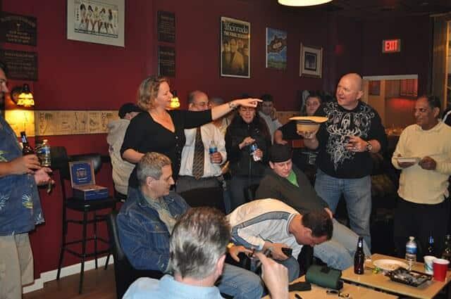 Fellowship in a cigar lounge community